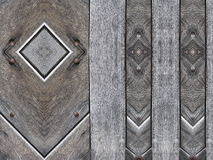 Grey wooden surface texture Royalty Free Stock Photos
