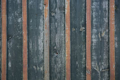 Grey wooden wall, striped background of wooden plank Royalty Free Stock Images