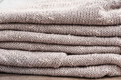 Grey wool Royalty Free Stock Photos