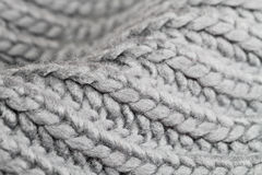 Grey wool Royalty Free Stock Photo