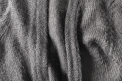 Grey wool Stock Image