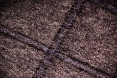 Grey wool with cross texture Stock Photos