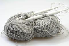 Grey wool royalty free stock photo