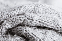 Grey wool Royalty Free Stock Photography