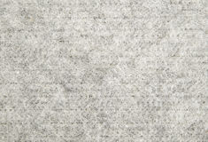 Grey wool material for sewing Stock Image