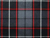 Grey wool plaid/tartan with stripe stock images