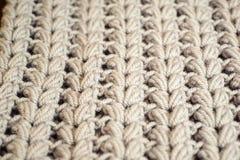 Grey wool texture background. Knitting detailsof material. Grey wool texture background material royalty free stock image