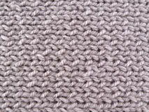 Grey woolen yarn. Background Royalty Free Stock Photography