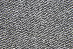 Grey woollen fabric Stock Image