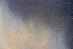 Grey and yellow grunge textured wall. Stock Photos