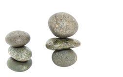 Grey Zen Stones I Stock Photo