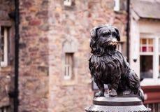 Greyfriar's bobby in edinburgh. Statue of greyfriar's bobby in edinburgh Stock Image
