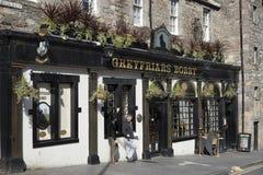 Greyfriar's Bobby landmark bar Royalty Free Stock Images