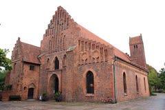 Greyfriars修道院,于斯塔德,瑞典 图库摄影