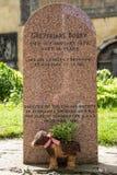 Greyfriars博比墓碑在爱丁堡 库存图片