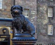 Greyfriars Bobby commemorative statue-Edinburgh, Scotland stock image