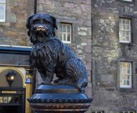 Greyfriars Bobby estatua-Edimburgo conmemorativa, Escocia imagen de archivo
