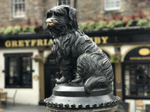 Greyfriars Bobby Memorial Stock Images