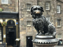 Greyfriars Bobby Memorial statue Stock Photo