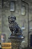 Greyfriars Bobby, at night, Edinburgh, Scotland Stock Photos