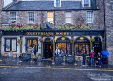 Greyfriars Bobby Pub, Edinburgh royalty-vrije stock foto