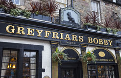 Greyfriars Bobby Public House in Edinburgh Royalty Free Stock Photos