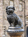 Greyfriars Bobby (sculpture) photos libres de droits
