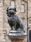 Greyfriars Bobby (scultura) Fotografie Stock Libere da Diritti