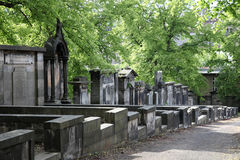 Greyfriars Churchyard Royalty Free Stock Photography