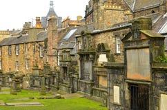 Greyfriars , Edinburgh. Tombs in Greyfriars cemetery , scotland royalty free stock image