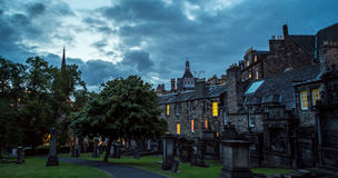 Greyfriars graveyard, Edinburgh Stock Photos