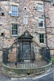 Greyfriars Kirkyard在爱丁堡,苏格兰,英国 免版税库存照片