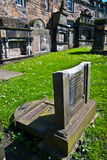 Greyfriars Kirkyard Royalty Free Stock Photos