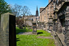 Greyfriars Kirkyard Stock Photo