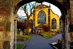 Greyfriars Kirkyard Obraz Royalty Free
