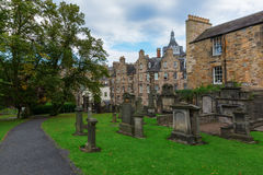 Greyfriars Kirkyard in Edinburgh, Scotland, UK Stock Photo
