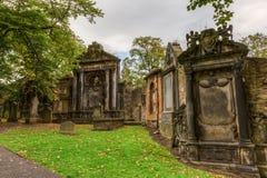 Greyfriars Kirkyard in Edinburgh, Scotland, UK Royalty Free Stock Image