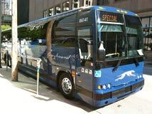Greyhound λεωφορείο στοκ εικόνα με δικαίωμα ελεύθερης χρήσης