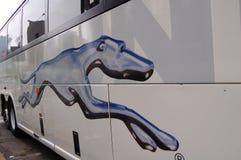 Greyhound Bus Royalty Free Stock Photography