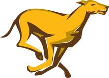 Greyhound Dog Racing Running Retro Royalty Free Stock Image