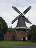 The Greyhound is a flour mill in the Drenthe Gieten, Netherlands. Royalty Free Stock Photos