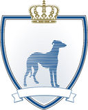 Greyhound sign Stock Photo