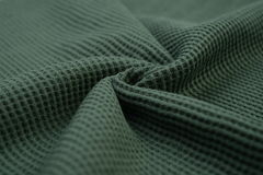Greyish green cloth made by cotton fiber Stock Photo