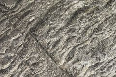 Greyish White Natural Rough Sandstone Surface Texture royalty free stock photography