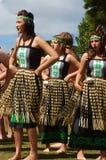 Маорийская танцулька Стоковое Изображение RF