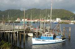 Greymouth Fishing Fleet Royalty Free Stock Image