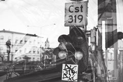 Greyscale Photography of Road Royalty Free Stock Photo