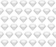 Greyscale seamless diamond  pattern Royalty Free Stock Images
