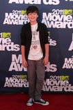 Greyson Chance. LOS ANGELES - JUN 5:  Greyson Chance arrivimg at the the 2011 MTV Movie Awards at Gibson Ampitheatre on June 5, 2011 in Los Angeles, CA Royalty Free Stock Images