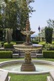 Greystone豪宅的公园在比佛利山,洛杉矶,加利福尼亚,美利坚合众国 库存照片